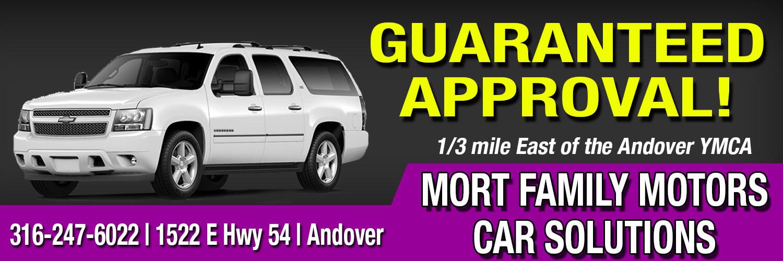 Advertiser Mort Family Motors Car Solutions